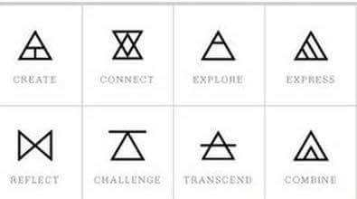 What is a double black triangle tattoo mean quora for What does a 1 tattoo mean