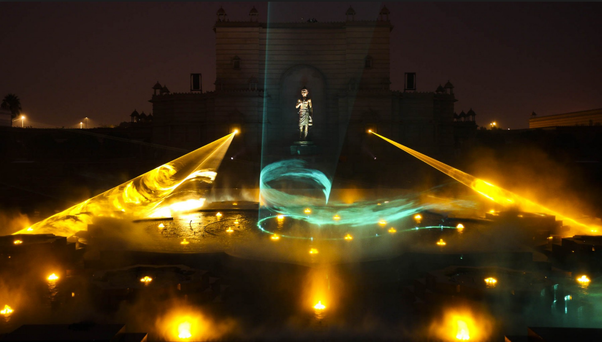 What is the best time of the day to visit the akshardham temple in musical water show thecheapjerseys Gallery