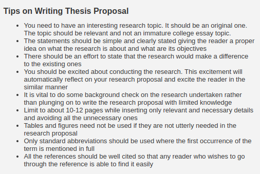 Dba research proposal sample.