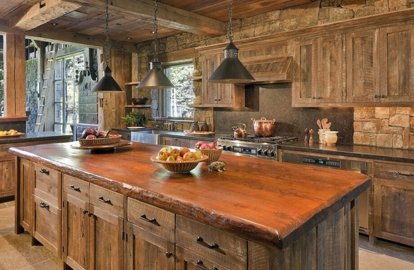 Delightful You Can Often Find Savings In Salvaged Wood To Assist With Your Budget.  This May Deliver An Amazing Kitchen At A Fraction Of The Cost. Idea