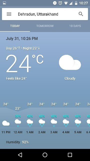 best android weather app for india