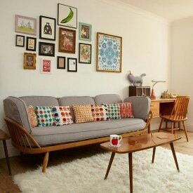 try to decorate your apartment in a way that a particular thing is impactful for an example if your walls are white so you can play with bed sheets or - 2 Bhk Flat Interior Design In Ahmedabad