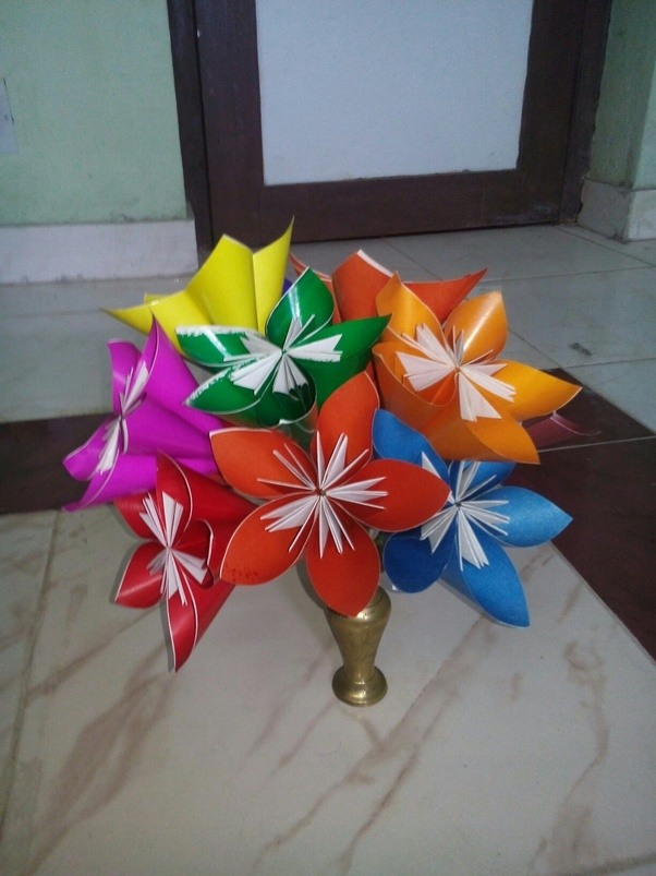 How to make easy origami flowers quora hope you like it mightylinksfo