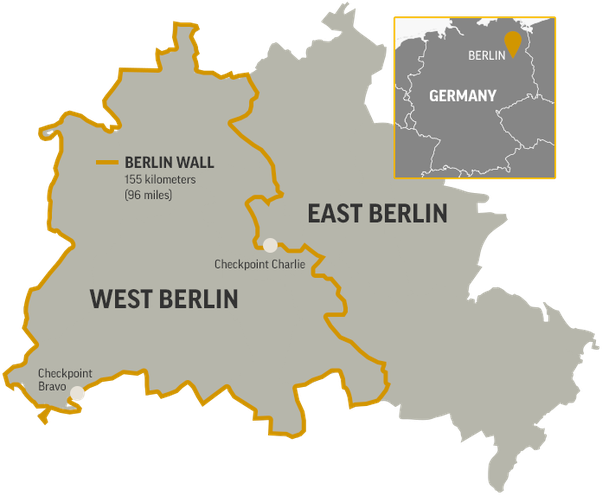 What is the Berlin Wall? What happened? - Quora