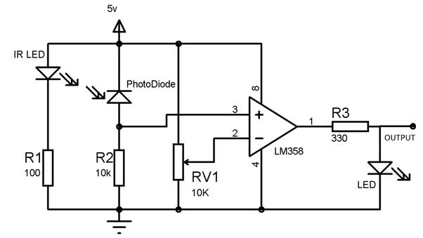 how does an ir sensor work quora rh quora com