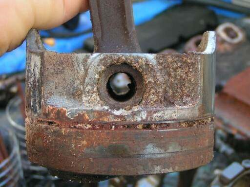 I have a car motor that is locked, is there any last ditch effort that I can try.? I hate to ...