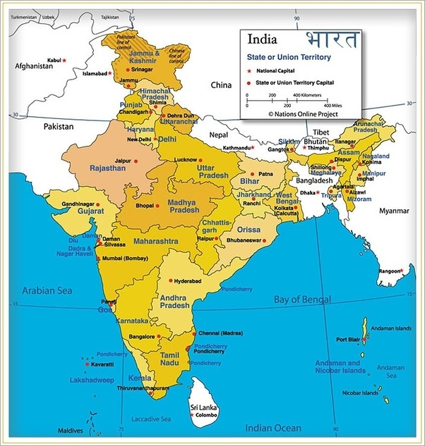 Why Does India Have A Larger Area Than Pakistan Quora - Where is pakistan