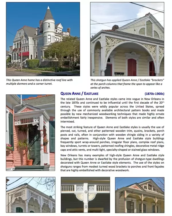 The City Of New Orleans, For Example, Will Have Historic Preservation Design  Guidelines For Different Types Of Residential Homes (HDLC   Design  Guidelines ...