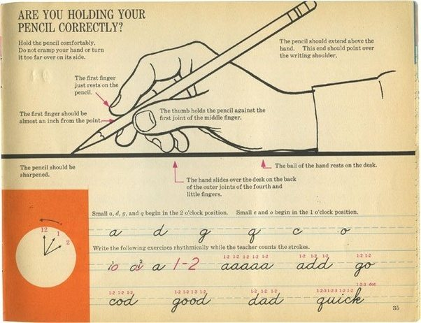 how to improve handwriting speed pdf