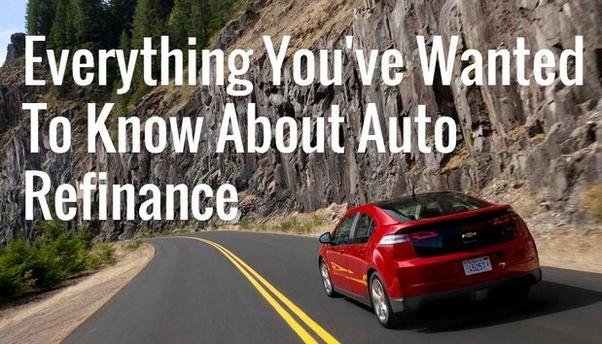Best car refinance options