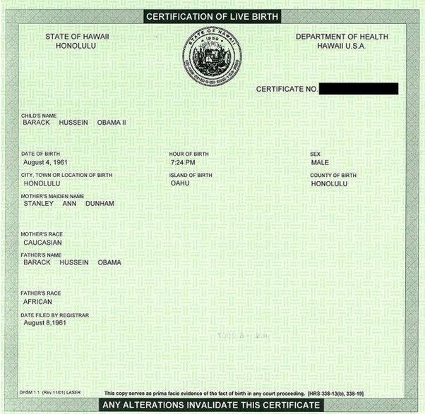 Why Did President Obama Wait So Long To Show A Birth Certificate