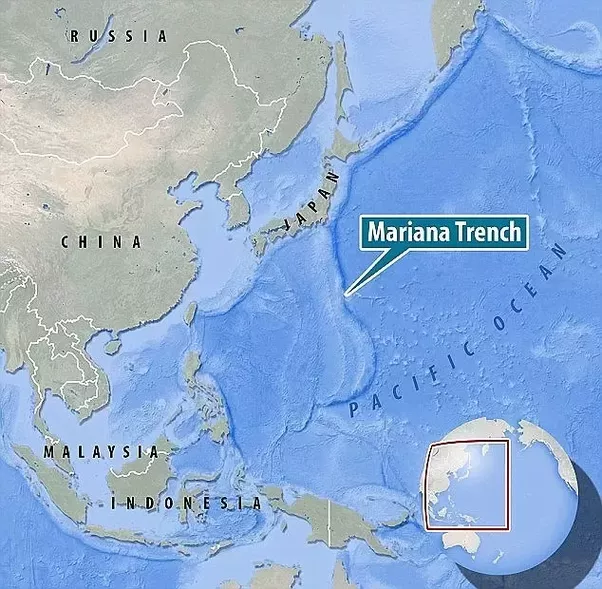 What is the deepest ocean trench quora pic marianas trench ocean map gumiabroncs Images