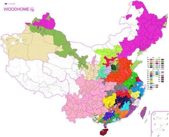 Is The Language Called Chinese Or Mandarin Quora - China language map