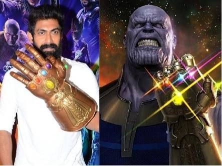 Which actor gives dubbing to Thanos in Telugu? - Quora