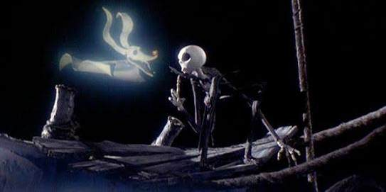 the ghost dog belonging to jack skellington in the tim burton film the nightmare before christmas is zero - Whats This Nightmare Before Christmas