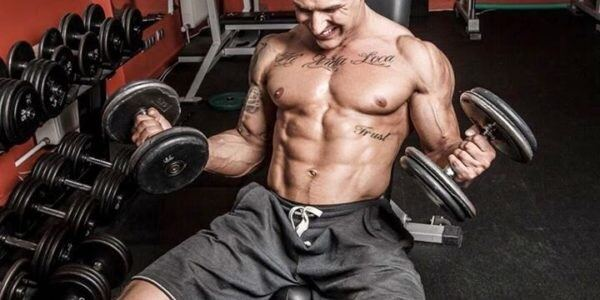 how to build biceps without gym