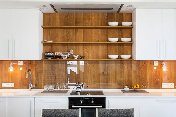 Etonnant Flat Panel Cabinets Begin With A Single Base Of Wood, And Can Remain That  Way Or Be Built Up.
