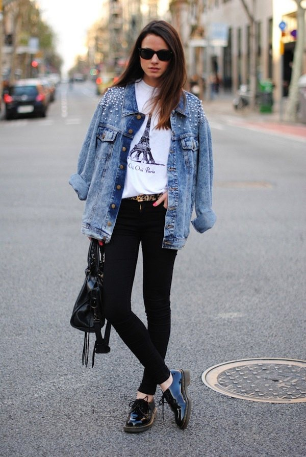 Jeans jacket outfit