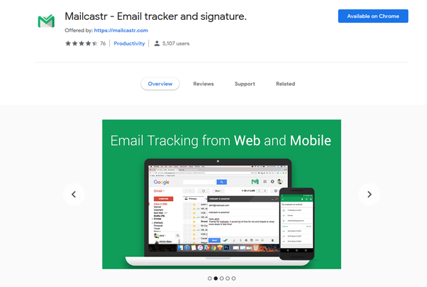 What is the best Chrome extension for email tracking? - Quora
