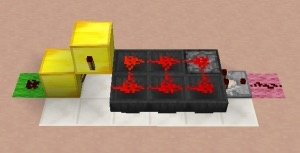 With Minecraft redstone, how do I make it so a signal is only sent