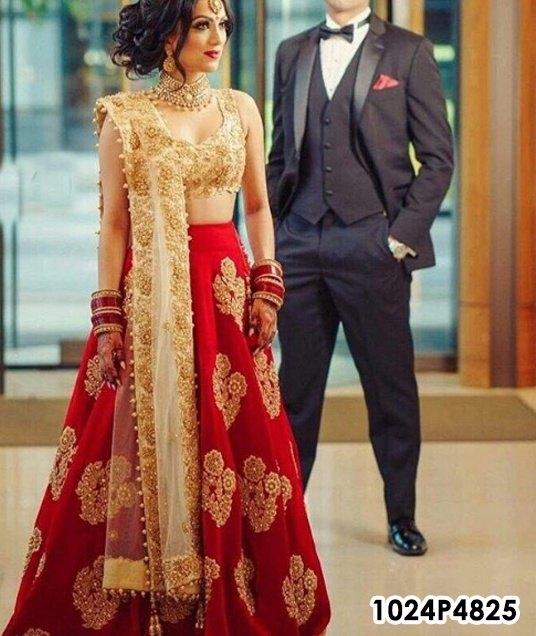 Where do we get a good bridal lehenga within an 11000 rupee budget ...