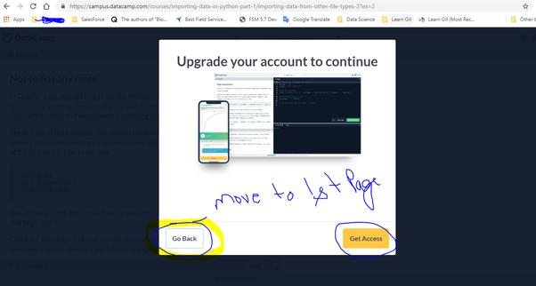 Are courses in DataCamp free of cost? - Quora
