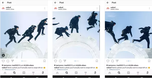 Can i post multiple photos in instagram without cropping them into 6 creative ways to use the instagram slideshow kevmrc ccuart Gallery