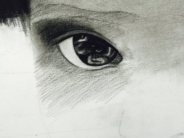 Drawing With No Lines : Which is the best shading technique to recieve a realistic drawing