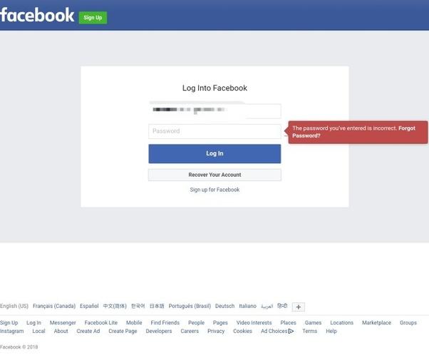 How to get my older Facebook account password - Quora