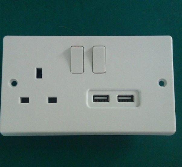 Why Do Uk Electrical Outlets Have A Switch And Only One