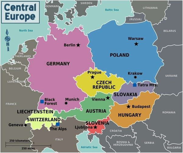 Does contemporary Poland belong more to the Western or Eastern