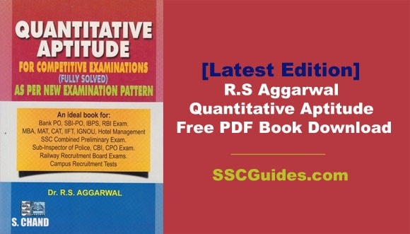 Where do I download a PDF of R  S  Aggarwal's book? - Quora