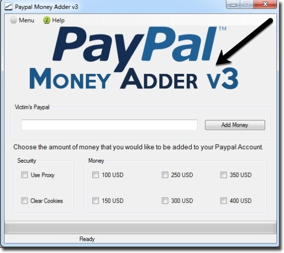 Paypal Money Adder V3 Igofasr