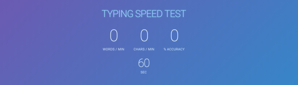 Are there any apps which track your typing speed while you type? - Quora