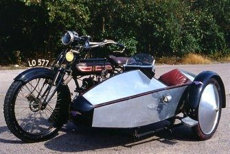 The Company Originally Made Motorcycle Sidecars Before Developing Passenger  Cars.