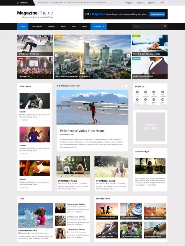 What wordpress themes do you suggest I use for an advertising agency ...