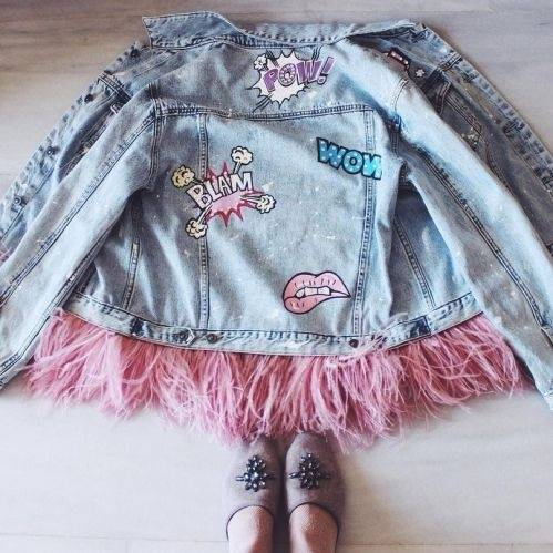 What Are Some Ways To Decorate A Denim Jacket Quora