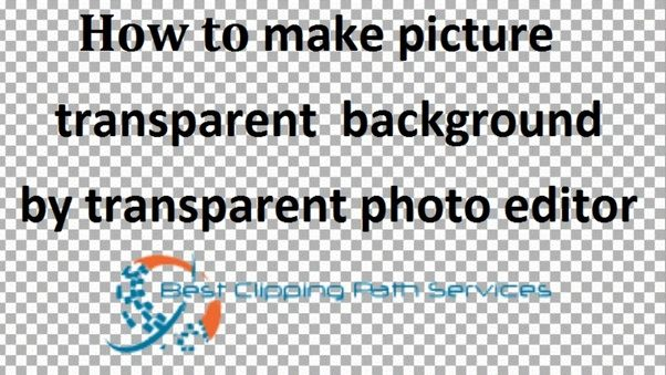 how to get the clear background photoshop