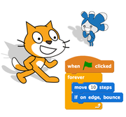 What is the meaning of scratch in terms of coding or programming