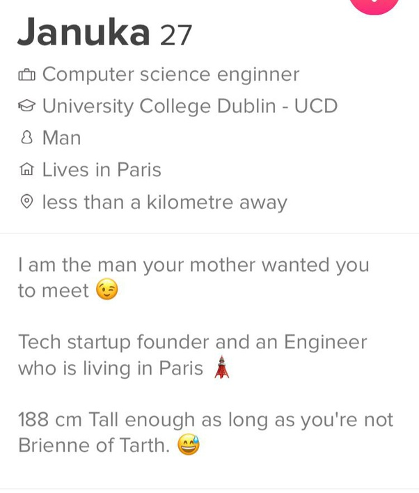 single mom dating profile samples