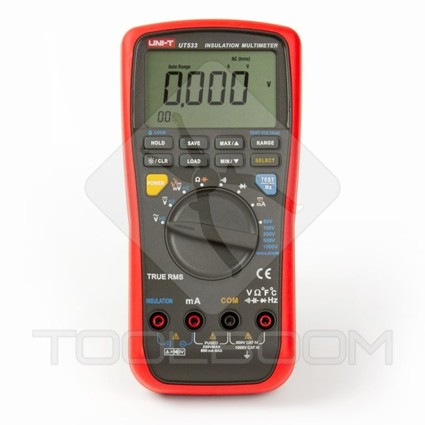 Can we use a multimeter instead of Megger? - Quora