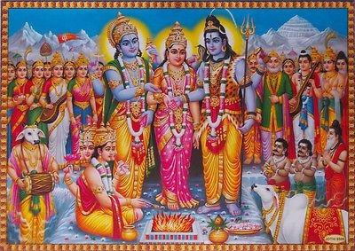 Shiva parvathi lord and Shiva and