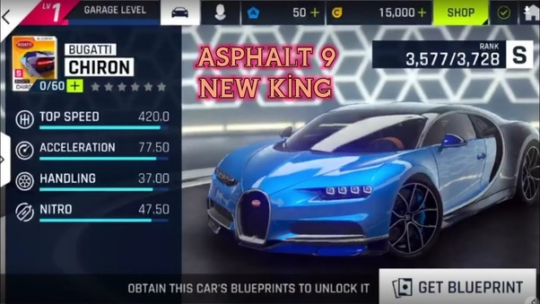 What is the difference between Asphalt 8 and Asphalt 9