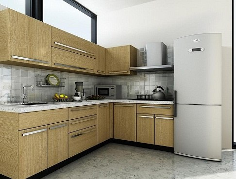 What are modular kitchens quora - L shaped indian modular kitchen designs ...