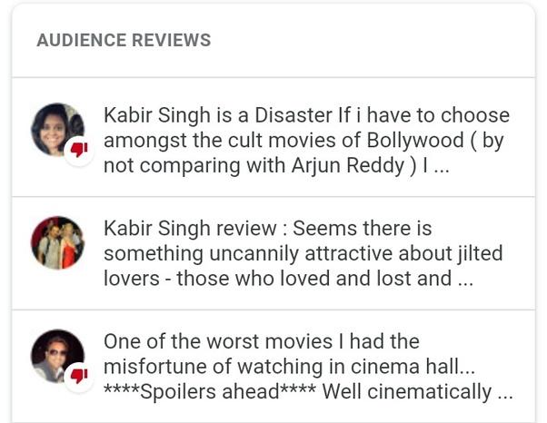 Is Kabir Singh (movie) really encouraging toxic masculinity? - Quora