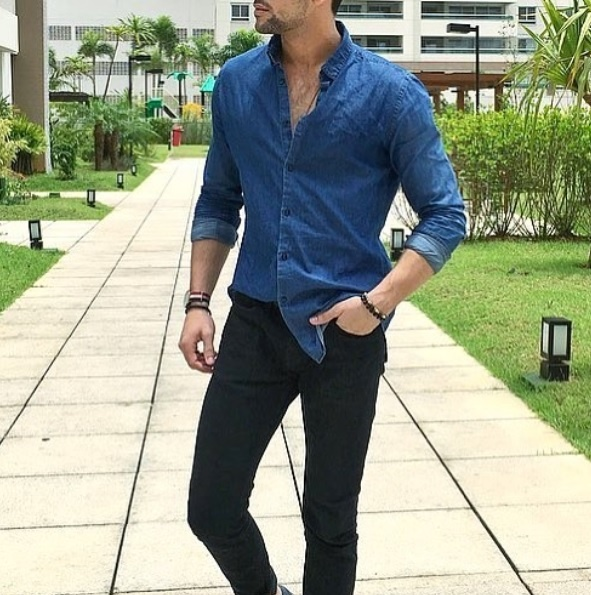 What color shirt matches with black jeans? - Quora