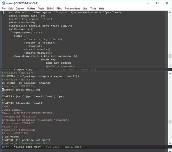 embedded common lisp