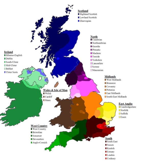 British Accents and Dialects: A Rough Guide