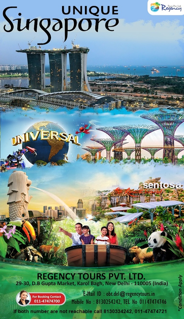 What is the best tour package available to visit Singapore