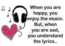 i just absolutely love listening to music but i can never listen or